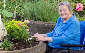 create a garden accessible for disabled gardeners